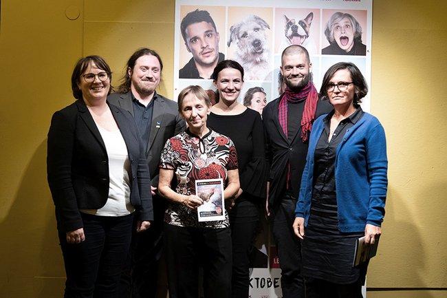 v.l.n.r.: Elfriede-Anna More, Wolfgang Gruber, Monika Vyslouzil, Silvia Udwary, Lorenz Probst, Rosa von Suess