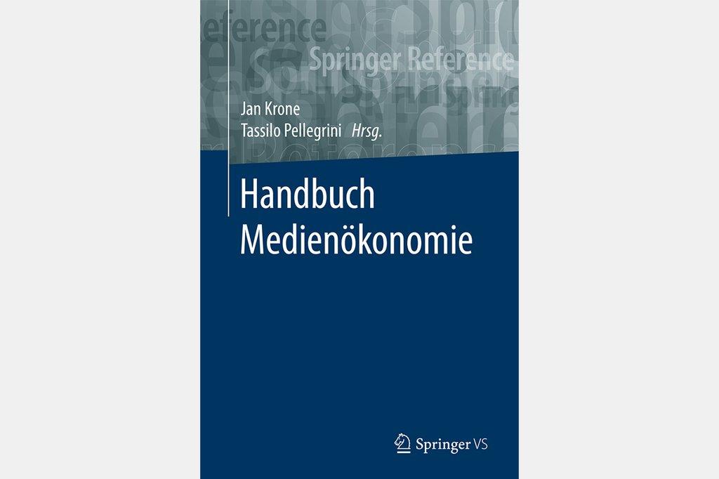 Cover Handbuch Medienökonomie