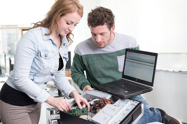 Symbolbild Ausbildung von IT-Security-Fachkräften
