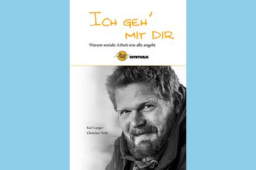 """Buchcover """"Ich geh' mit dir"""" der Emmausgemeinschaft"""