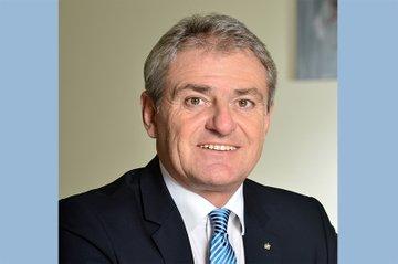 Helge Haslinger, Mitglied im Vorstand des FH-Fördervereins