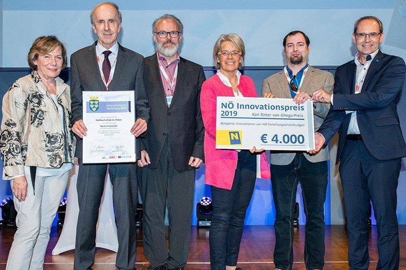 Preisverleihung Innovationspreis NÖ 2019