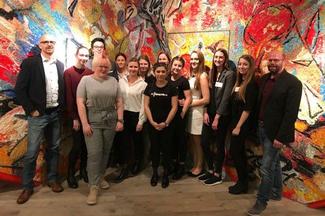 Im Praxislabor Eventmanagement entwickelten Studierende des Bachelor Studiengangs Media- und Kommunikationsberatung Konzepte für den prominenten Auftraggeber Würth Österreich.