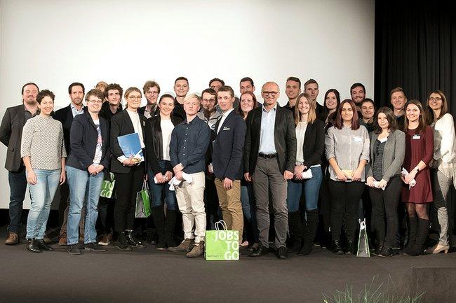 Die iLab-Studierenden mit Lehrenden der FH St. Pölten.