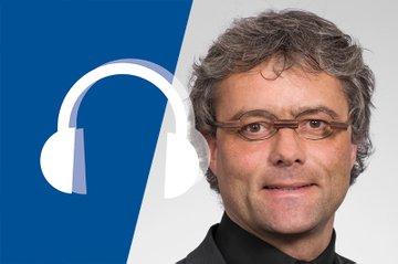 Hannes Raffaseder im Campus Talk
