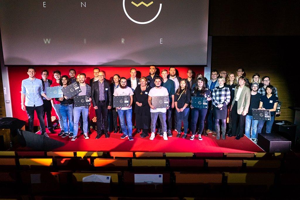 Die Siegerinnen und Sieger des Golden Wire 2019