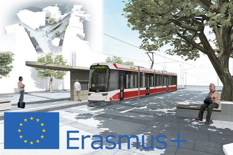 Visualisierung der Erasmus+ Traunseetram