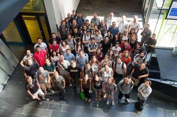 Die TeilnehmerInnen der Creative Media Summer School 2017 an der FH St. Pölten
