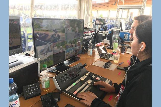 Studierende der FH St. Pölten kümmern sich auch 2019 um die medientechnische Begleitung des IRONMAN 70.3. in St. Pölten