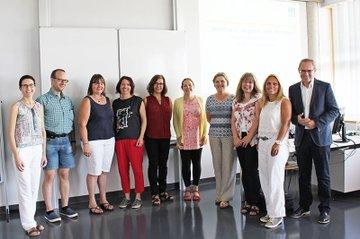 """Seit diesem Jahr bietet die FH St. Pölten in Zusammenarbeit mit der NÖ Forschungs- und Bildungsges.m.b.H. (NFB) im Rahmen des Projekts """"Teacher goes FH"""" Weiterbildungsformate für LehrerInnen an, die in Oberstufen von AHS, BHS oder HTL unterrichten."""