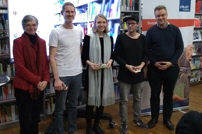 Sylvia Supper, Christoph Ebner, Patrizia Schmid, Stefan Kersch und Johannes Pflegerl