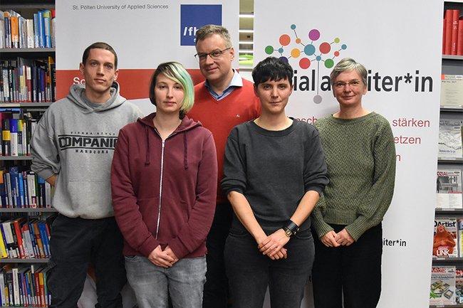 Michael Hiesinger, Beate Haberhofer, Johannes Pflegerl, Teresa Wintersteller und Sylvia Supper