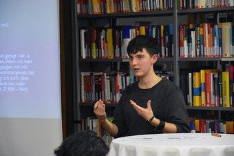 Teresa Wintersteller sprach über die Situation von Betroffenen im Erwachsenenschutz