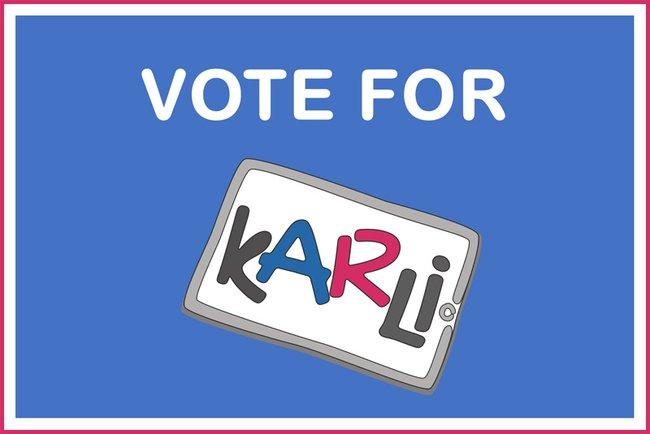 Jetzt für KARLI abstimmen!