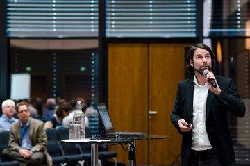 Tassilo Pellegrini, FH-Dozent an der FH St. Pölten und Mitorganisator der Konferenz