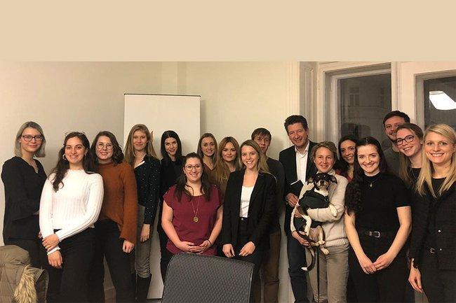 Studierende präsentierten ihre Kommunikationskonzepte für den Österreichischen Tierschutzverein