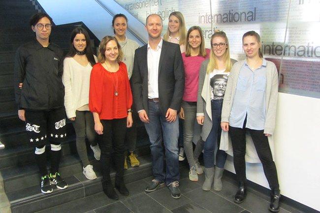 Gastvortrag von Styria Content Creation im Master Studiengang Media- und Kommunikationsberatung