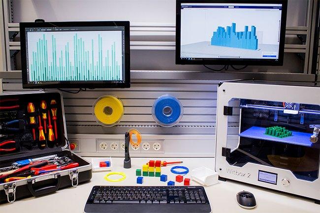 E-Lab und Industrie 4.0-Labor sind top ausgestattet