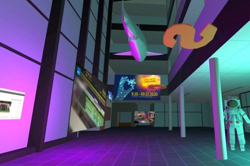 Virtueller Rundgang durch die FH St. Pölten
