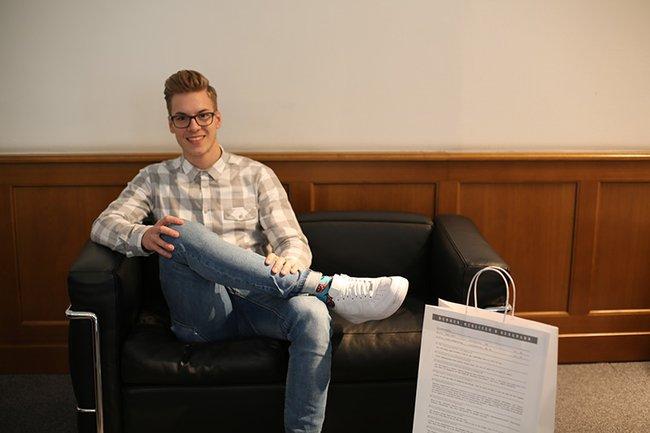 Philipp Rauscher, Absolvent Media- und Kommunikationsberatung