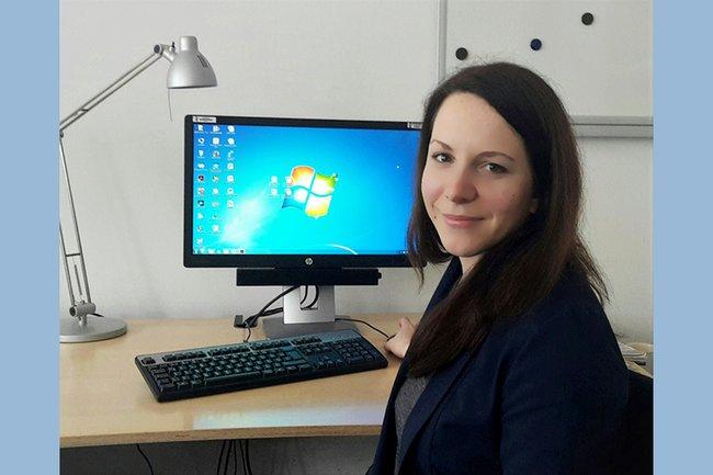 Medienmanagement-Absolventin Verena Ganhör