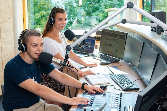 Medienmanagement-Studierende entwickelten Radio-Unternehmenskonzepte