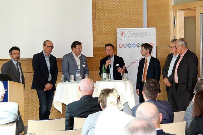 Otfried Knoll bei Veranstaltung Lösungen gegen die Regelungswut