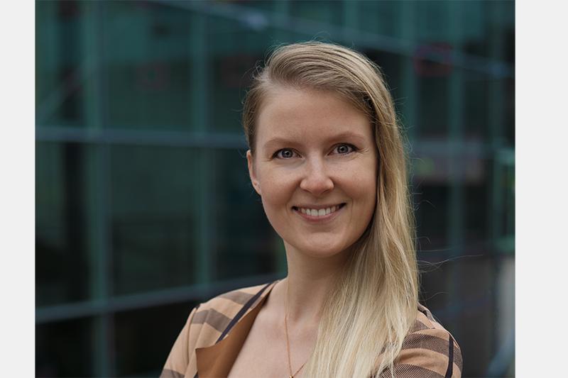 Angelina Loy, Master-Studentin Digital Media Management an der FH St. Pölten, in Hochbegabten-Programm aufgenommen