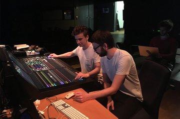 Masterklasse Audio Design im ZKM in Karlsruhe