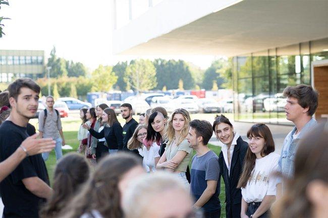 Wir begrüßen 54 Erstsemester im Studiengang Medienmanagement
