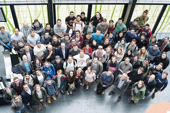 Die TeilnehmerInnen der Creative Media Summer School an der FH St. Pölten