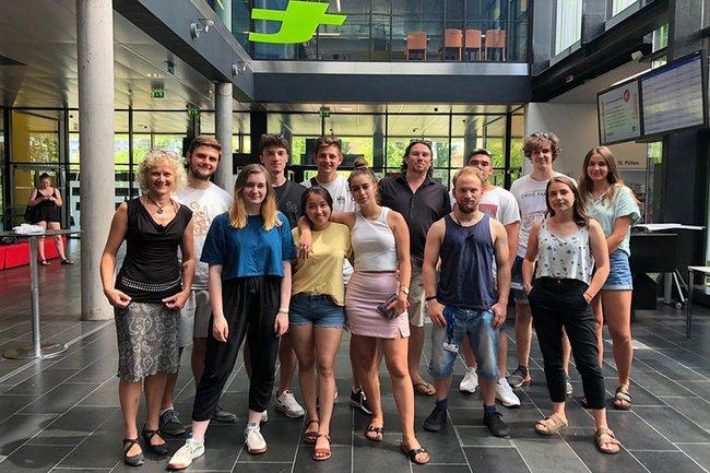 Hochschule Mittweida bei Creative Media Summer School zu Gast