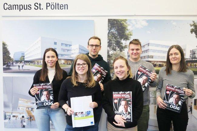 Studierende publizieren im Börse Social Magazine