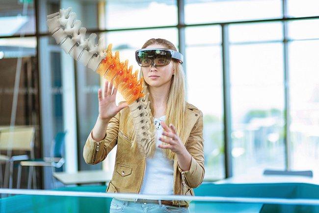 Die HoloLens im Einsatz