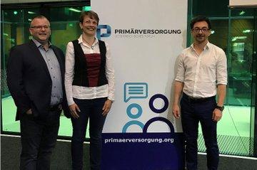 v.l.n.r.: Heinz Novosad, Susanne Finker, Stefan Korsatko