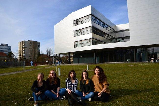 Das Studentinnen-Team von Nutrilounge