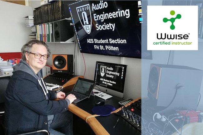 """FH St. Pölten wird erste """"Audiokinetic Wwise Certified School"""" hierzulande mit Mehrwert für die FH und ihre Studierenden"""