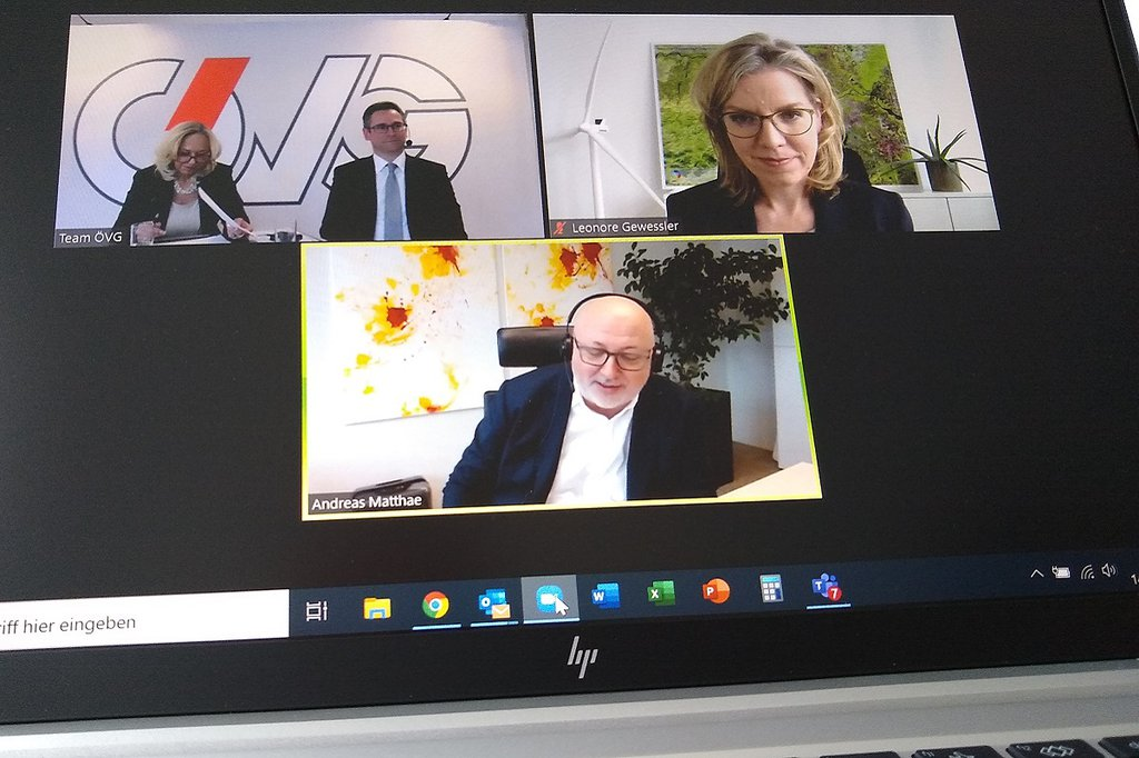 ÖVG-Kamingespräch mit Bundesministerin Gewessler