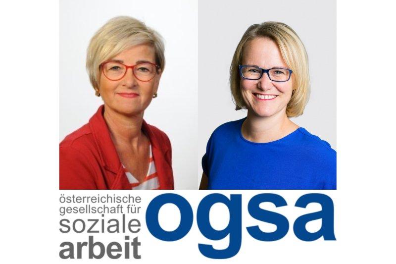 Johanna Hefel und Christina Engel-Unterberger