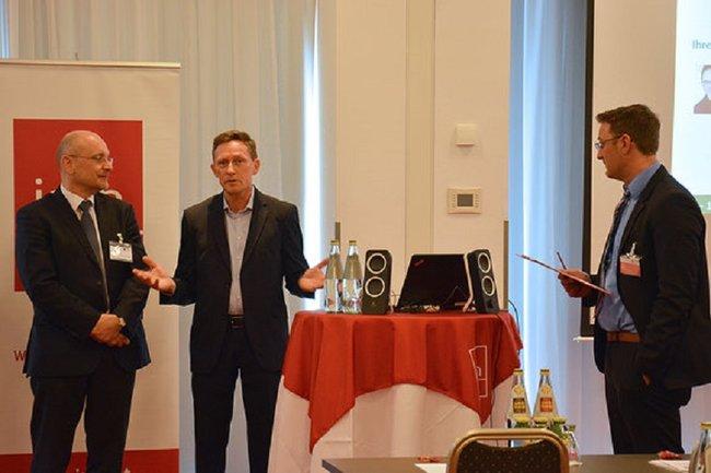 Otfried Knoll als Experte beim imh-Forum Verkehr