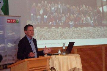 Vortrag Otfried Knoll bei der Sommertagung des fachverbandes der Schienenbahnen