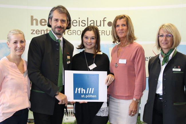 v.l.n.r.: Julia Glösmann, Jürgen Friedl, Roswitha Wimmer, Evelin Maria Klopf, Elfriede Stiedl