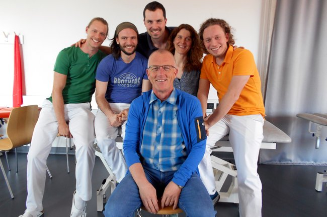 1. Reihe: Jan Herman van Minnen, 2. Reihe: Philipp Przyhoda, Georg Pflügler, Julian Josef Edlhaimb, Michaela Neubauer und Christian Neulinger