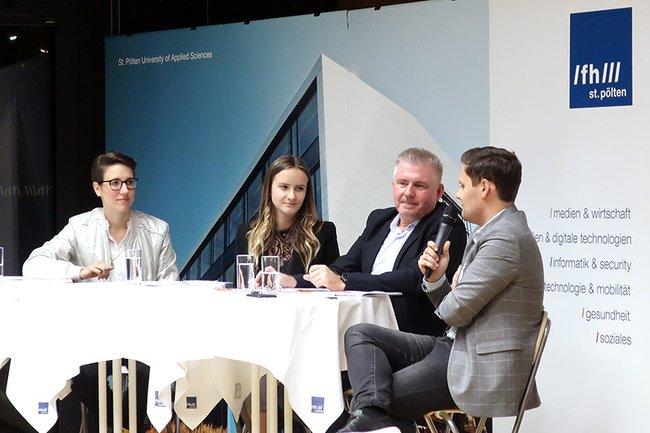 Vera Gasber, Teresa Takacs, Christian Jungwirth und Fabian Knauseder