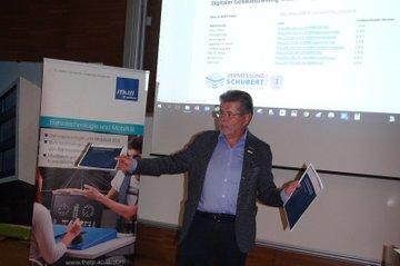 Vortrag Hanns Schubert beim Kaminabend