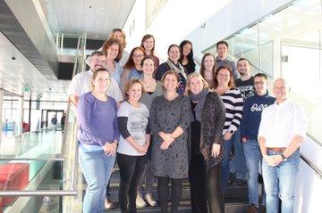 TeilnehmerInnen des Treffens mit Departmentleitung, Studiengangsleitung und Stellv. Studiengangsleitung