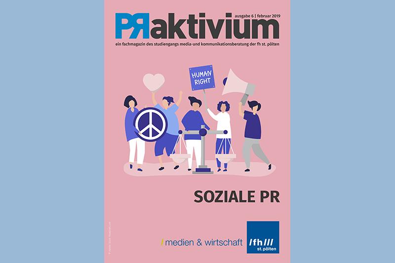 Das Magazin PRaktivium setzt sich mit PR im Sozialbereich auseinander