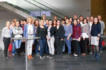 Team des Studiengangs Gesundheits- und Krankenpflege mit PraxisanleiterInnen