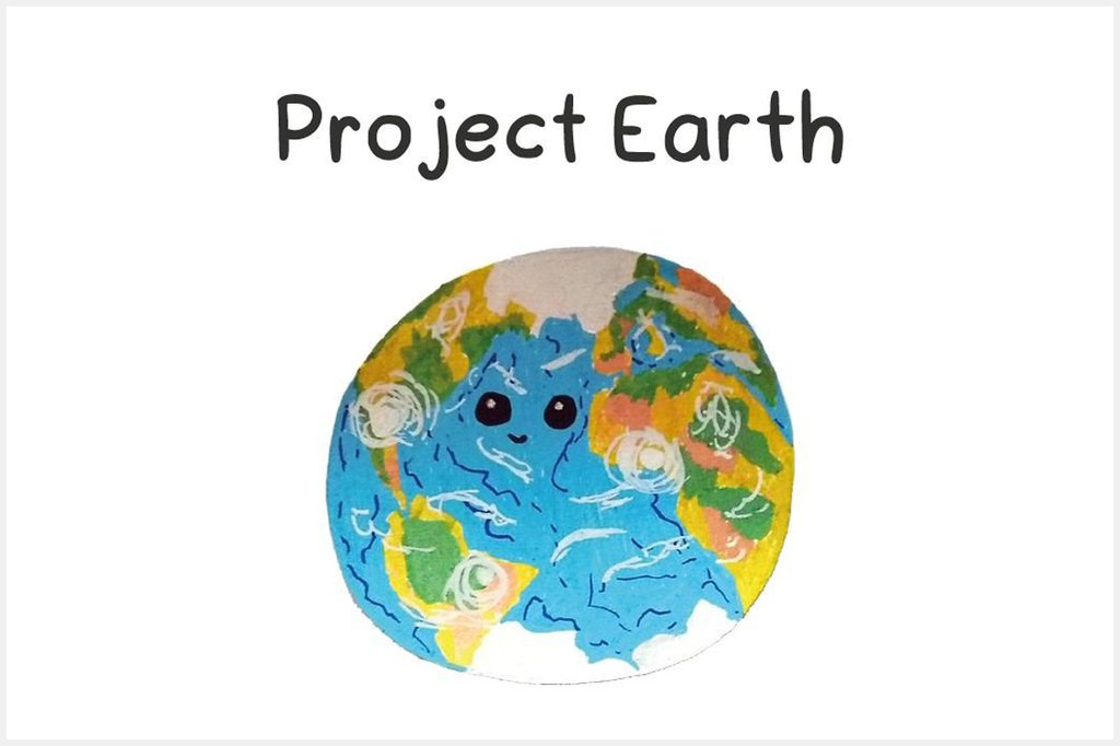 "Das im Young Campus 2020 Workshop ""Coding & Game Design"" entwicklete Mini Game ""Project Earth"" thematisiert richtige Mülltrennung."
