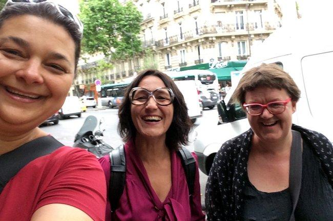 Andrea Nagy, Christine Haselbacher und Michaela Moser